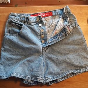 Outlaw jean shorts vintage 90's